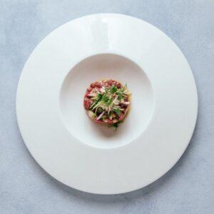 blu beach beef tartare