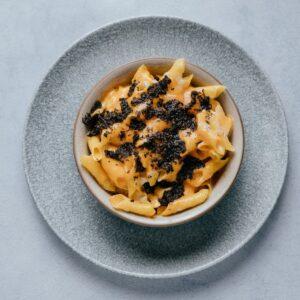 blu beach Truffle Mac' n Cheese