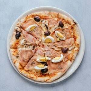 blu beach pizza capricciosa