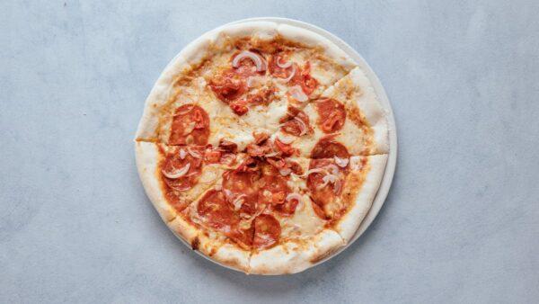 blu beach pizza spicy