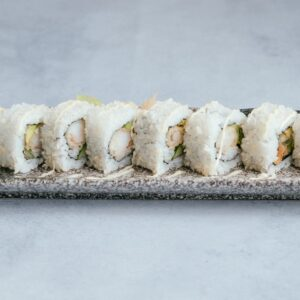 blu beach prawn tempura roll