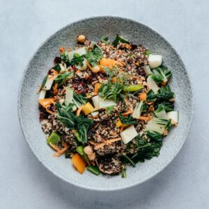 blu beach quinoa salad