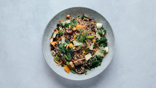 blu beach quinoa salad