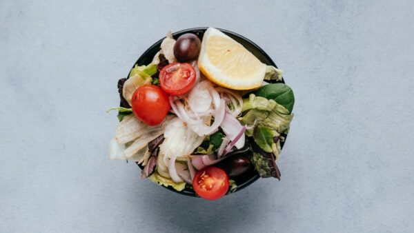 blu beach side salad
