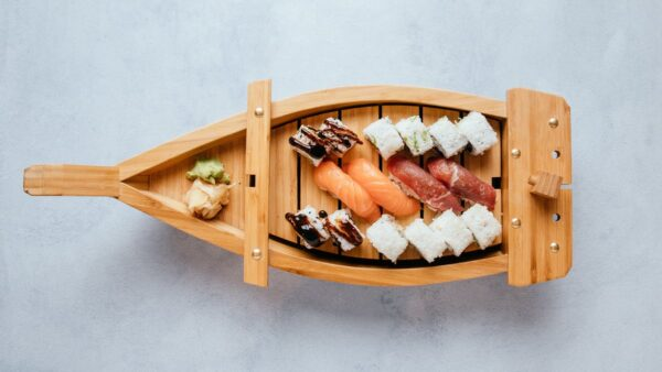 blu beach sushi boat 1