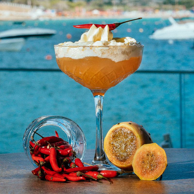 Chilli Mango Cocktail